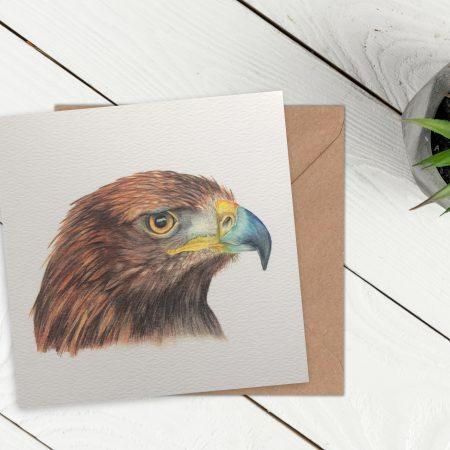 Golden Eagle Card