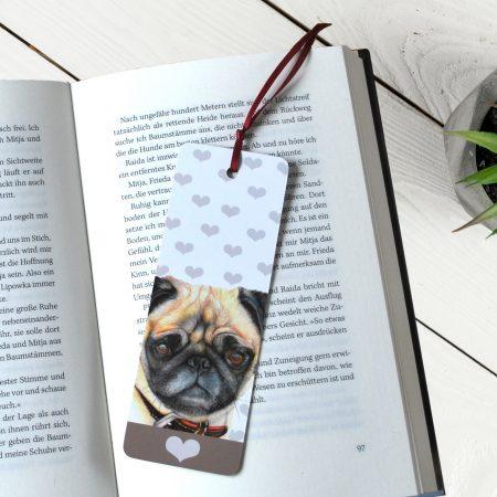 Pug Bookmark