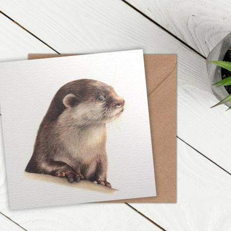 Greeting Card Otter