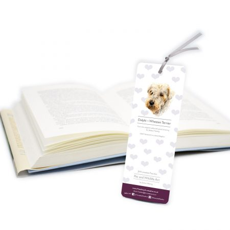 Wheaten Terrier Bookmark back