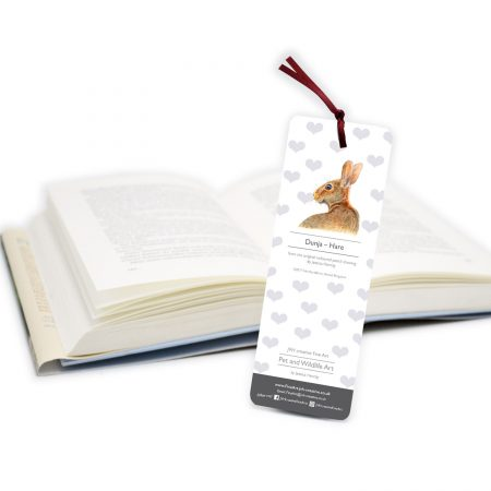 hare bookmark back