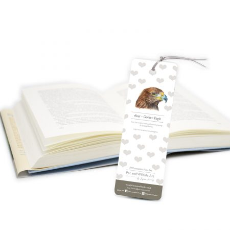Golden Eagle Bookmark back