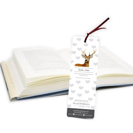 Deer_Bookmark Back