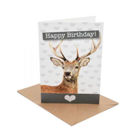 Deer Birthday Card