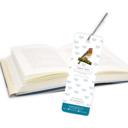 Robin Bookmark back