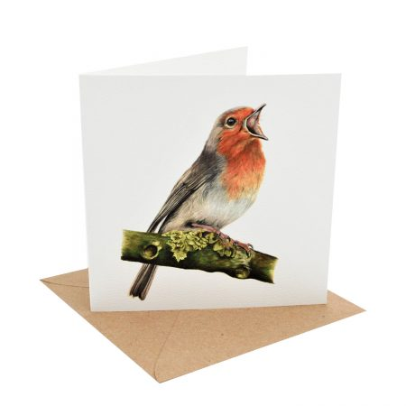 Roland Robin Greeting Card