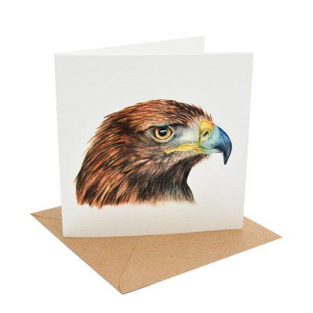Golden Eagle Greeting Card