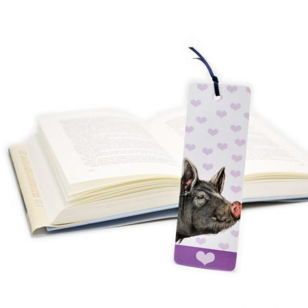 Berkshire Pig Bookmark