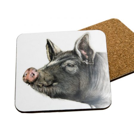 Berkshire Pig Coaster