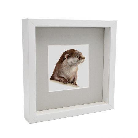 Otter Print Framed