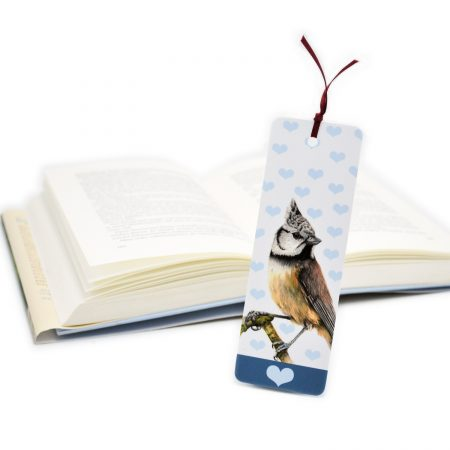Crested Tit Bookmark