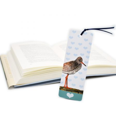 Redshank Bookmark