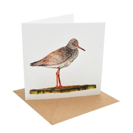 Redshank Greeting Card