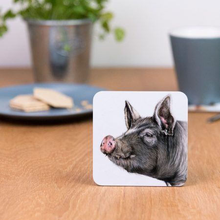 Berkshire Pig Coaster