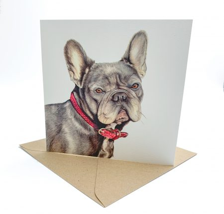 French Bulldog Greeting Card