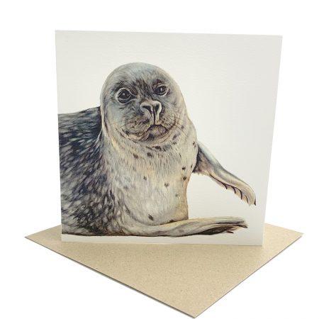 Norfolk Seal greeting Card