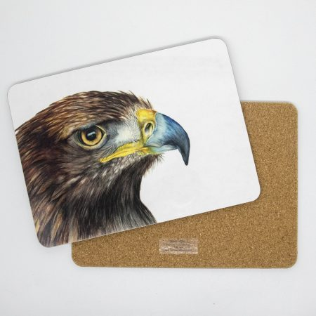 Golden Eagle tablemat front back