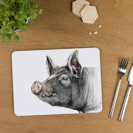 Berkshire Pig Tablemat