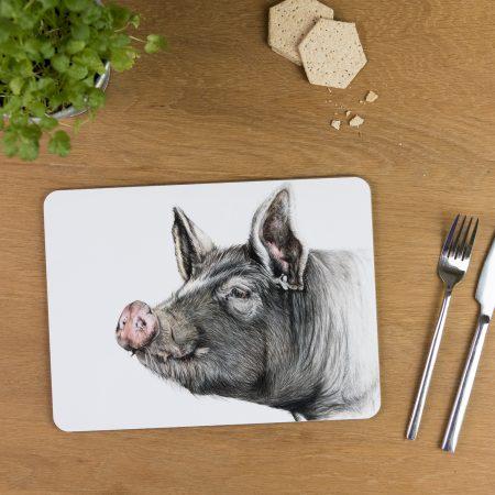 Berkshire Pig Tablemat