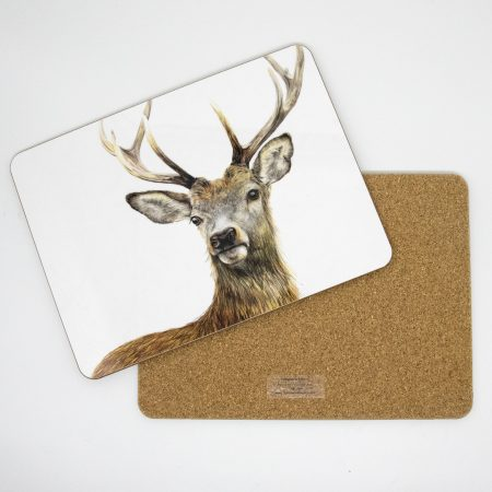 Stag Tablemat front back