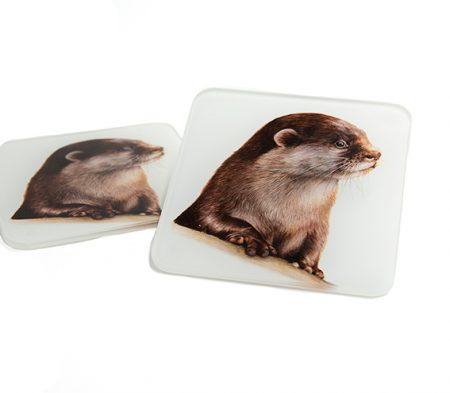 Otter Glass Coaster