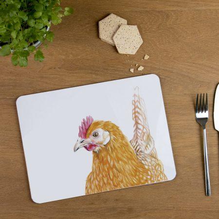 Hen Tablemat