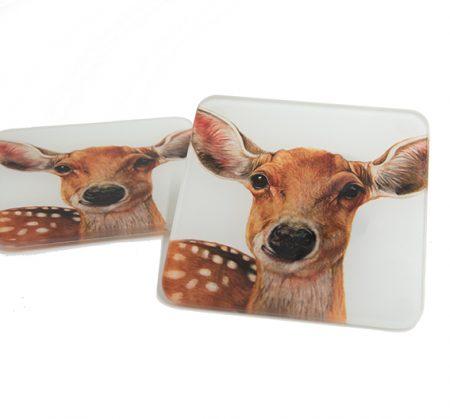 Deer Glass Coaster
