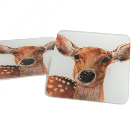 Deer Glass Coaster