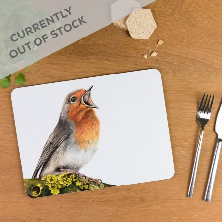 Robin Tablemat out of stocl
