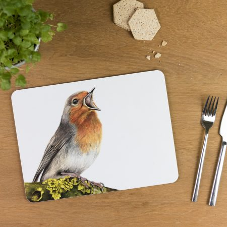 Robin tablemat
