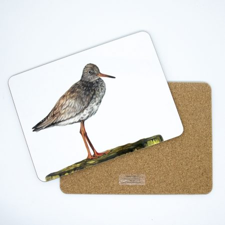 redshank tablemat front and back