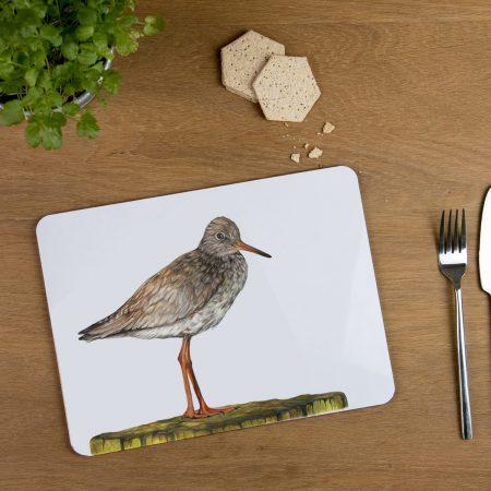 Redshank tablemat
