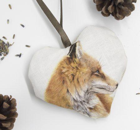 Fox Lavender Heart
