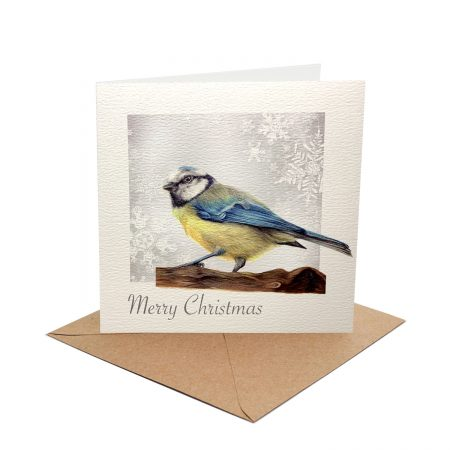 Blue Titi Christmas Card