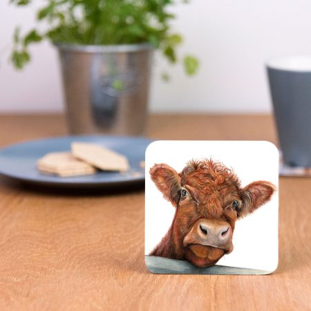 Shorthorn Cow Coaster