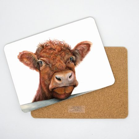 Shorthorn Cow Tablemat