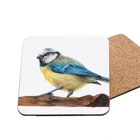Blue Tit Coaster