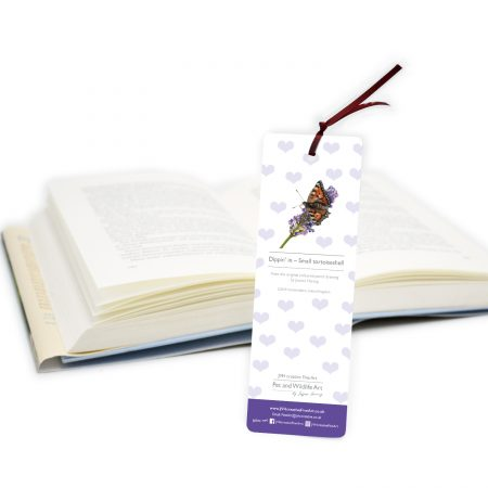 Butterfly Bookmark back