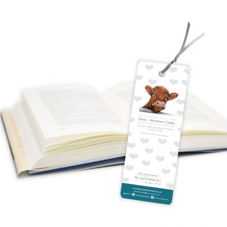 Shorthorn Bookmark back