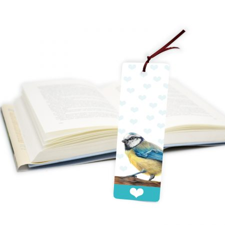Blue Tit Bookmark