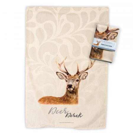 Deer Tea Towel