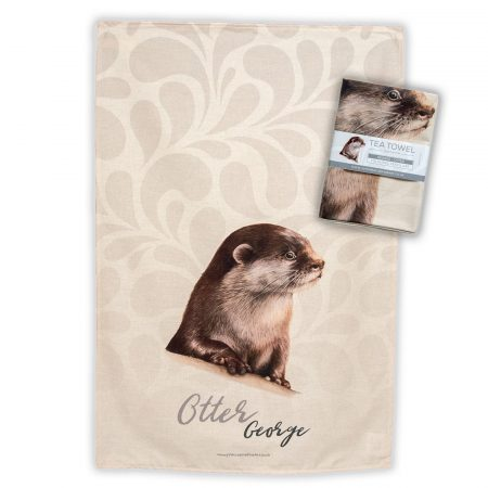 Otter Tea Towel
