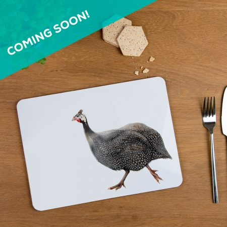 guinea fowl Placemat Comming Soon