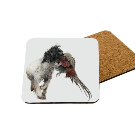 working spaniel coaster