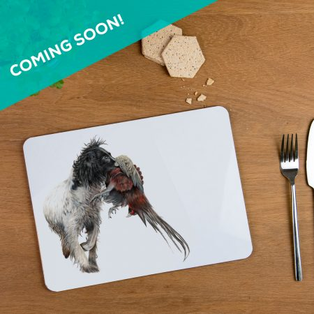 Working Spaniel Placemat coming soon