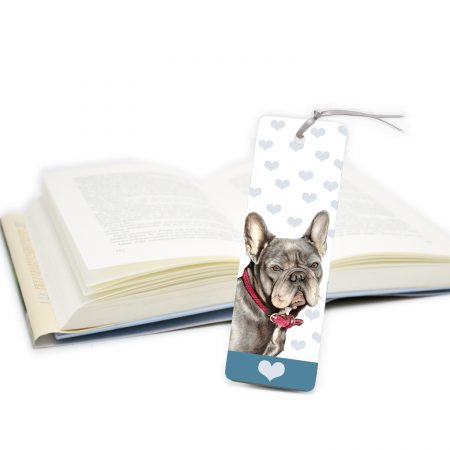 French Bulldog Bookmark