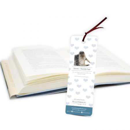 Norfolk Seal Bookmark Back