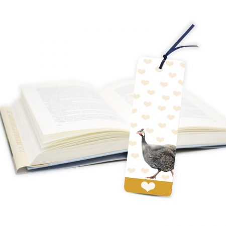 Guinea Fowl Bookmark