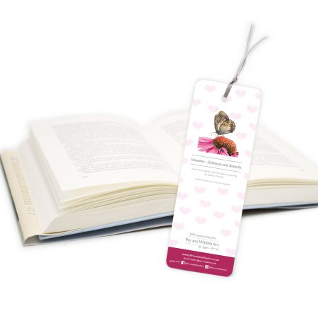 Echinacea Bookmark back