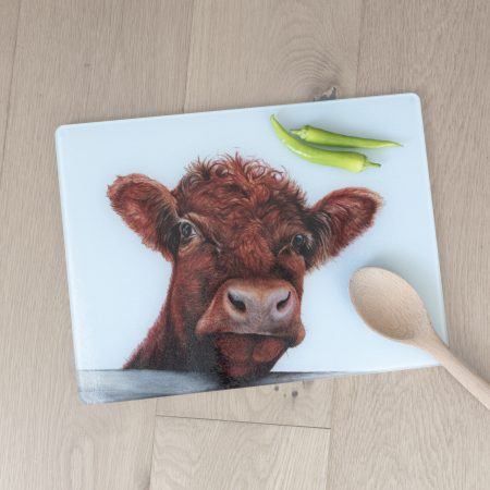 Shorthorn Cattle Worktop Saver